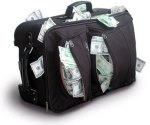 money suitcase